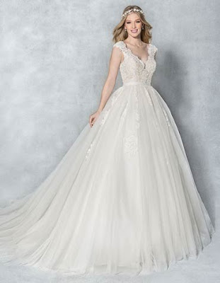 Beautiful ball wedding dress