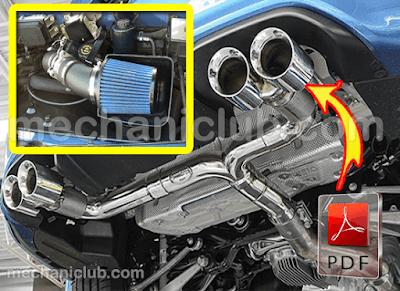 كتاب نظام العادم في السيارة وسحب الهواء للمحرك PDF