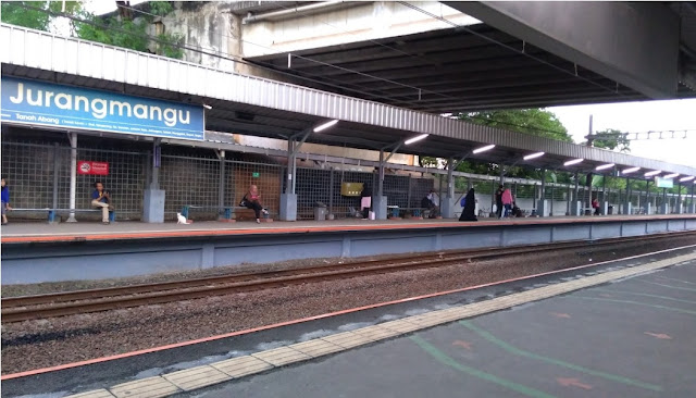 Stasiun KRL Jurang Mangu