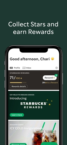 Collect 100 Starbucks Stars and Get Rewarded