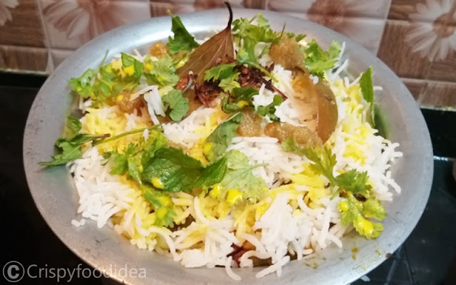 easy best veg biryani
