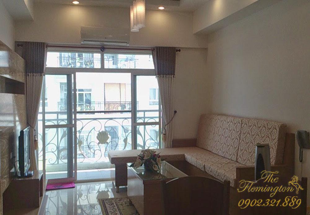 bán nhiều căn hộ flemington quận 11 - phòng khách căn hộ 87m2 tầng 12