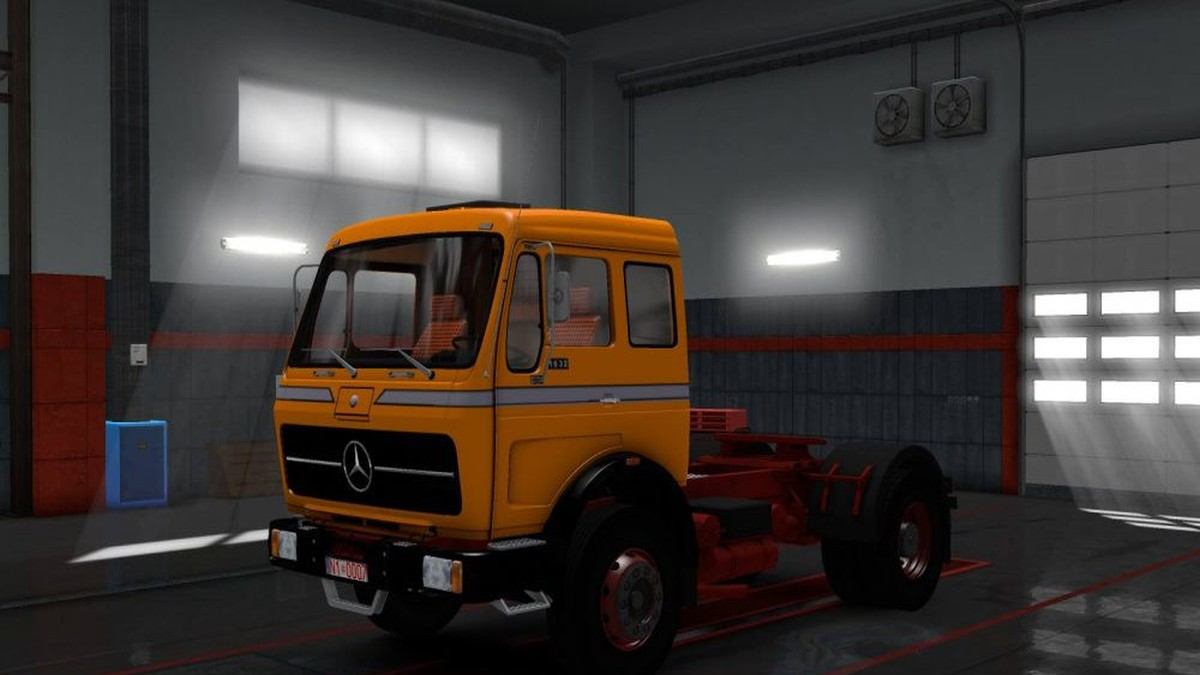 King Of The Road Skin Mercedes 1632 By Ekualizer