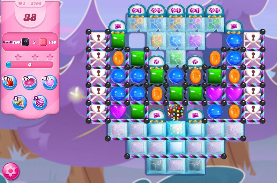Candy Crush Saga level 8795