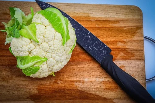 head of cauliflower