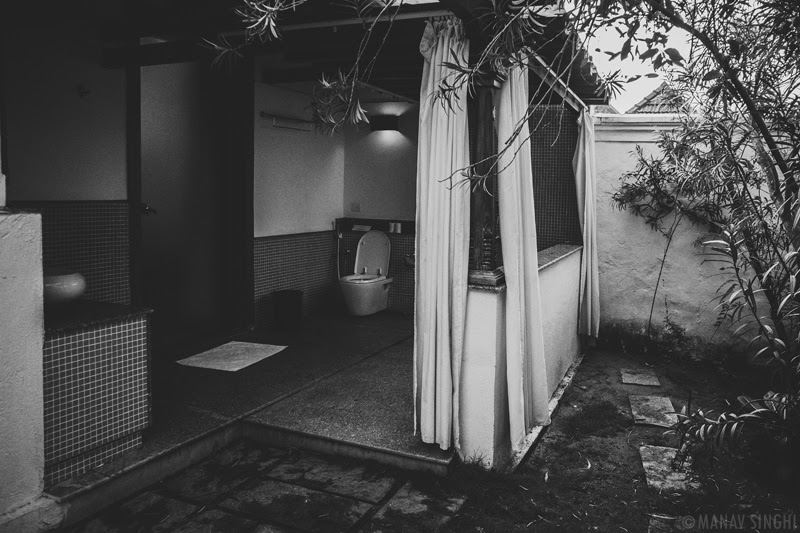 Bathroom View of  Luxury Pool Villa at Le Pondy Beach Resort, Pondicherry- 31-Oct-2019