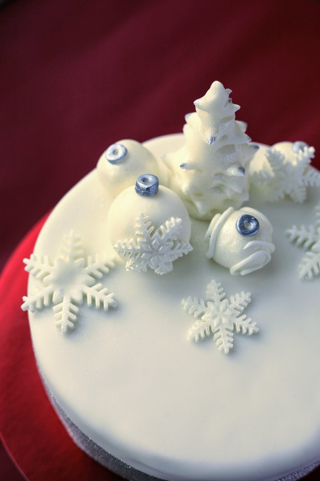 Baked your Christmas Cake, now is the time to decorate it so why not try this step by step tutorial. www.goodfoodshared.blogspot.com