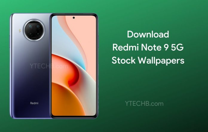 تحميل الخلفيات الرسمية لهاتف شاومي نوت 9 Xiaomi Redmi Note 9 5G [FHD +]