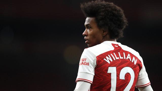 Arsenal player Willian