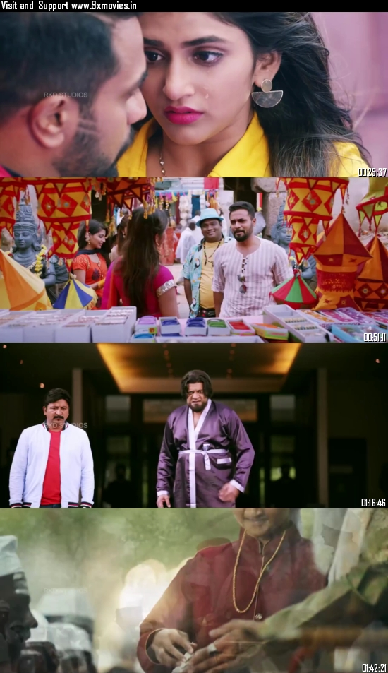 Bharaate 2020 Hindi Dubbed 720p HDRip 950MB