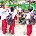 Aplikasikan kemampuan teritorial pada murid SD, Babinsa 07 pauh kambar Berikan materi olahraga