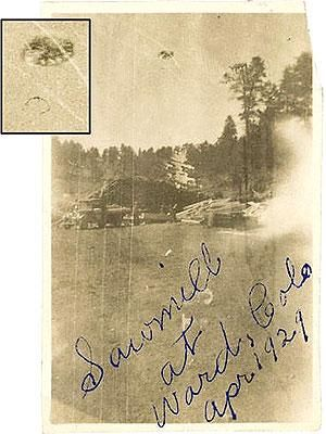 This is a 140 year old UFO photo.