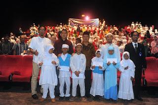Sekda Ajak 200 Anak Rumah Tahfidz Yatim Dhuafa Nobar Iqro