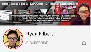 saluran youtube investasi ryan filbert