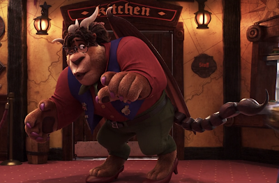 The manticore in onward movie