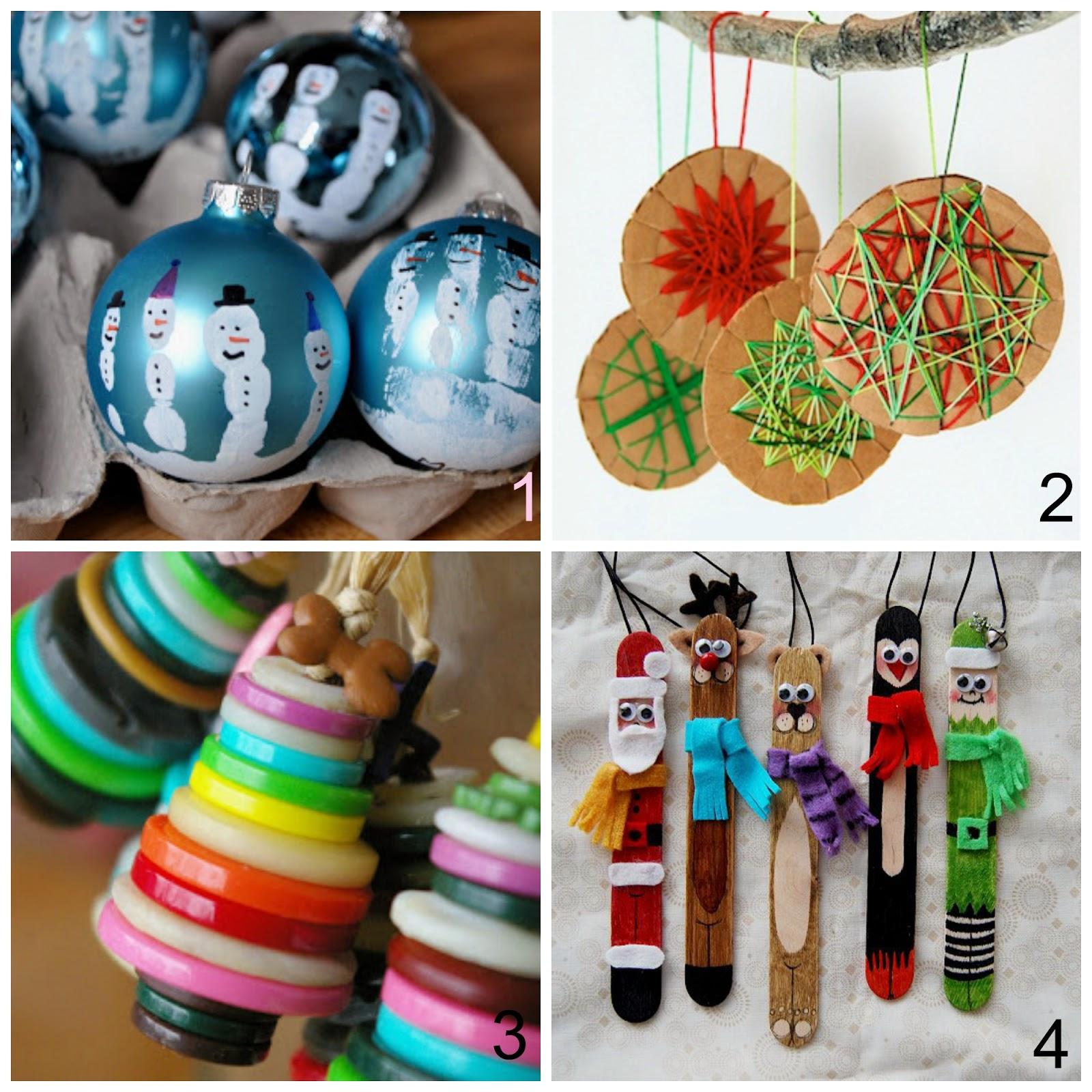 Mamma aiuta mamma creare decorazioni per l 39 albero di - Creare decorazioni per natale ...