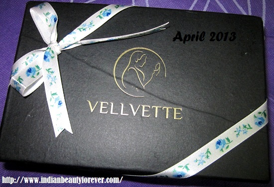My April Vellvette Box is here