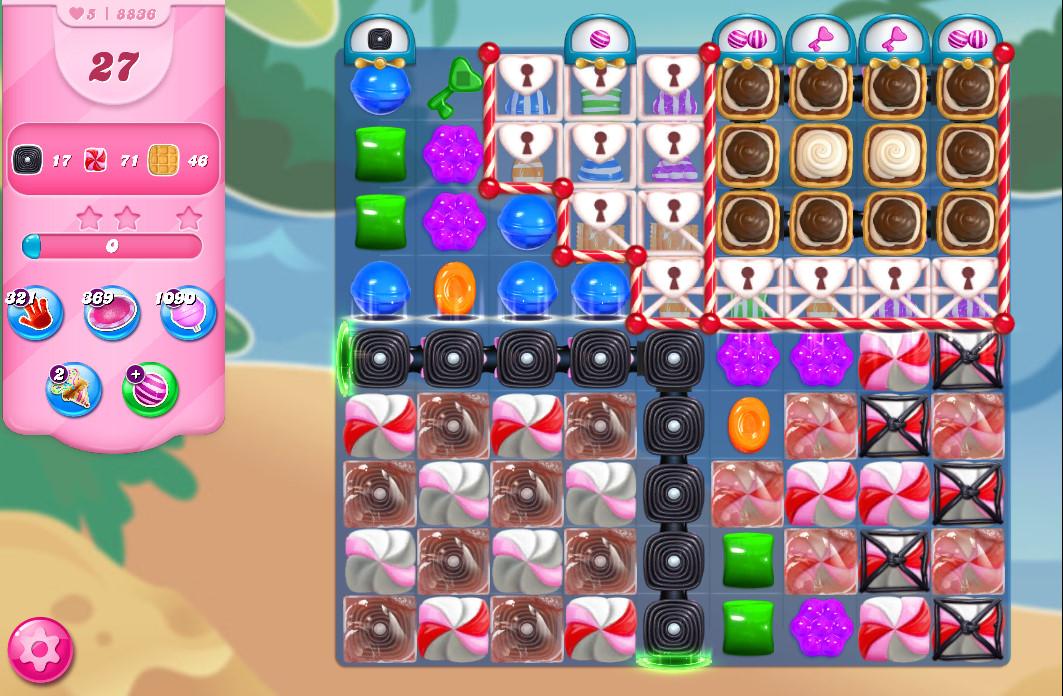 Candy Crush Saga level 8836