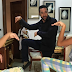 Majid Michel shares amazing Kung-fu styled snapshot with kids