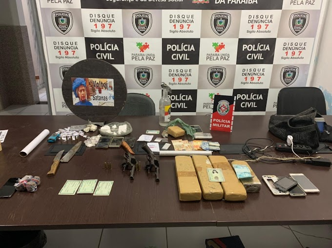 POLICIAS MILITAR E CIVIL DEFLAGRAM OPERAÇÃO EM PATOS