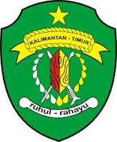 Lambang / logo propinsi Kalimantan Timur (Kaltim)