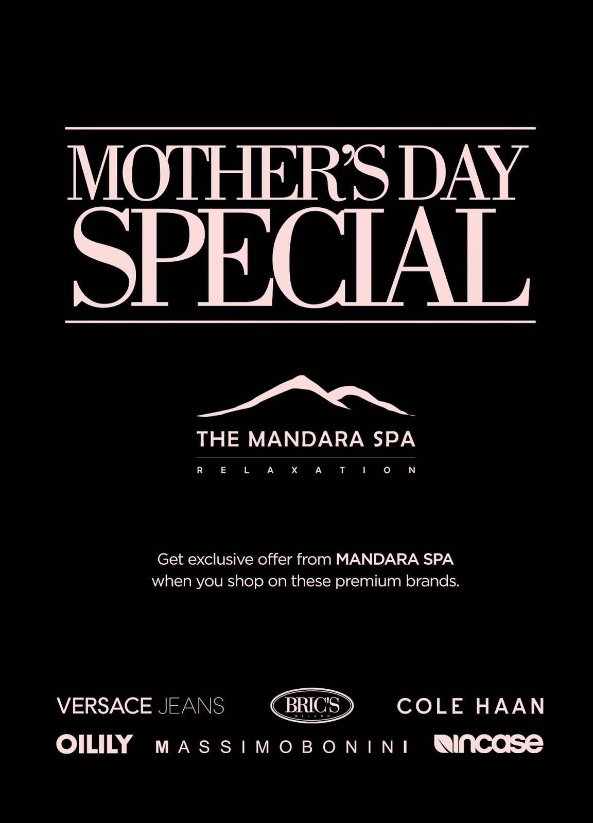0df22a20d26 Shopping for a gift for your mom? These premium brands will be a great gift  on Mother's Day! Get exclusive offer from Mandara Spa when you shop on  these ...