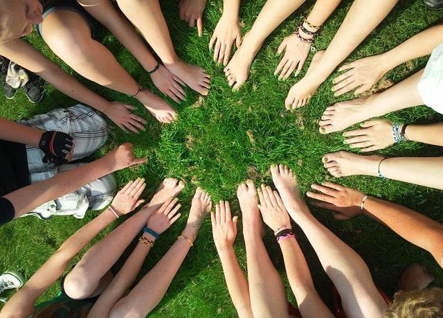 community involvement business charity company philanthropy service