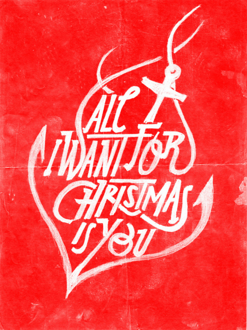 All i want for christmas is you song lyrics