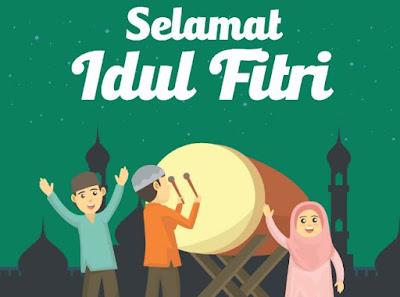 Pantun Ucapan Selamat Hari Raya Idul Fitri 2020 / 1441 Hijiriah Lucu, menghibur, seru dan bijak