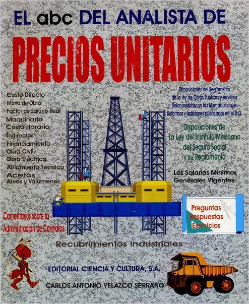 El Abc Del Analista De Precios Unitarios Rt Studio