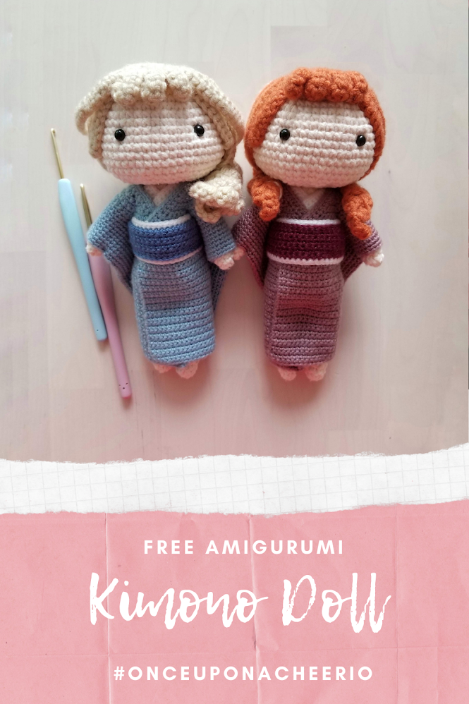 Kimono Doll Free Amigurumi Crochet Pattern