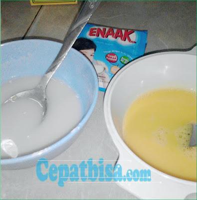 PIE Susu dengan Teflon
