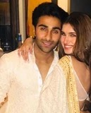 Tara Sutaria with her boyfriend