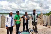 Usaha Budidaya Penggemukan Kepiting Bakau Binaan Baitul Mal Aceh Mulai Panen