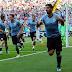 Uruguay derrotó a Arabia Saudita, con gol de de Luis Suárez, y se clasificó a octavos