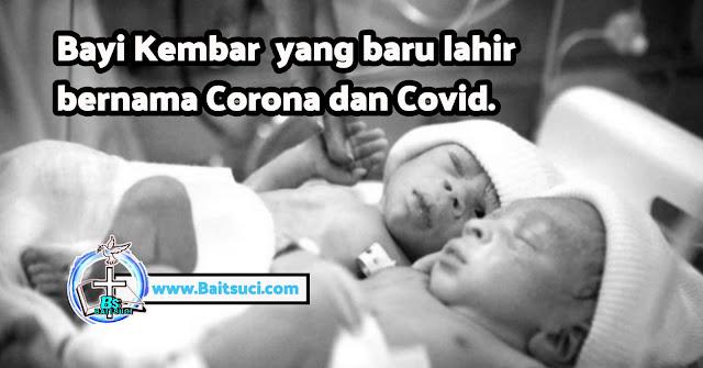 Berita hari ini - Bayi Kembar India yang baru lahir bernama Corona dan Covid