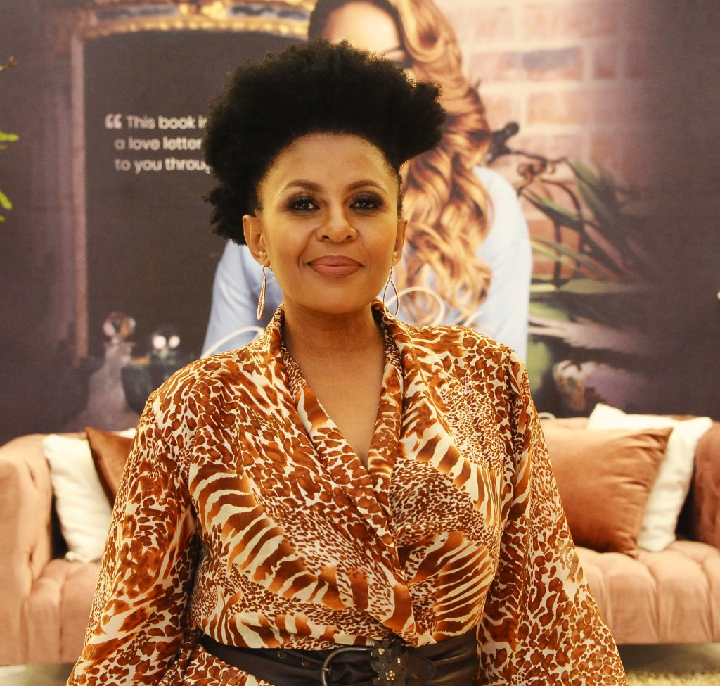 Basetsana Kumalo Pens Down Sweet Birthday Note To Hubby!