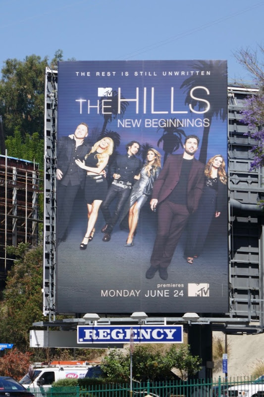 Hills New beginnings billboard