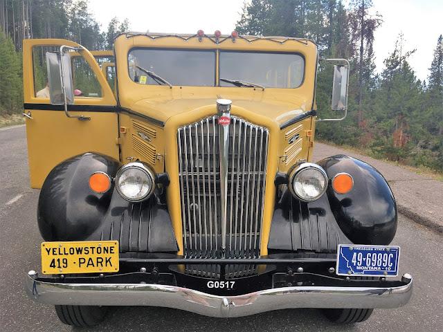 1937 White Yellowstone National Park Motor Coach