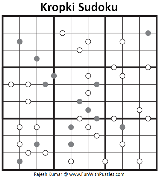 Kropki Sudoku (Fun With Sudoku #114)