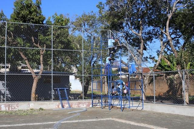 Pedido atendido: prefeitura revitaliza Campo de Futebol da Vila Borges