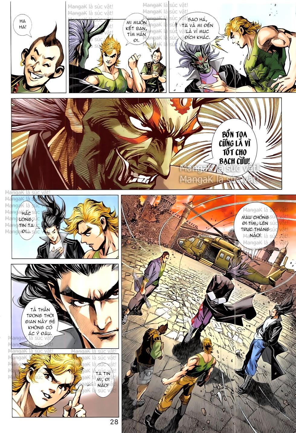 Tân Tác Long Hổ Môn Chap 824 page 28 - Truyentranhaz.net