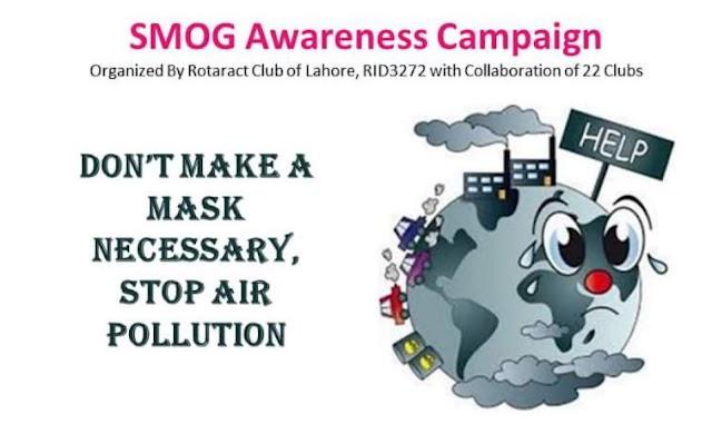 Awareness campaign on SMOG