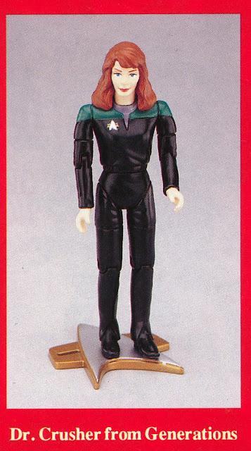 Star Trek Playmates Unreleased Prototype
