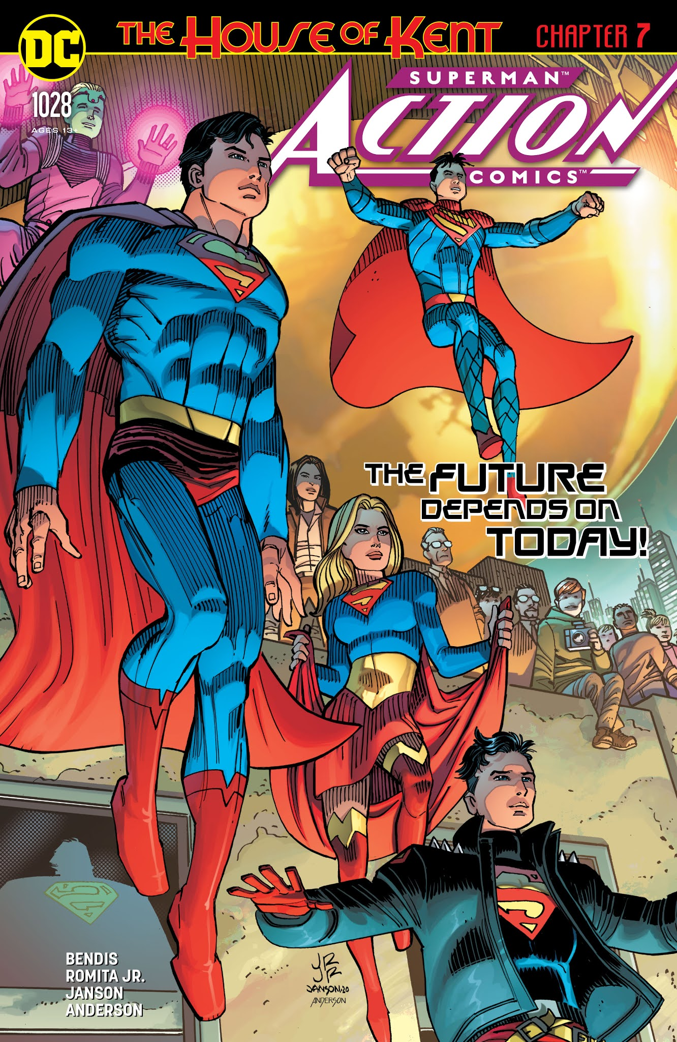 Action Comics #1028 Review - The Aspiring Kryptonian