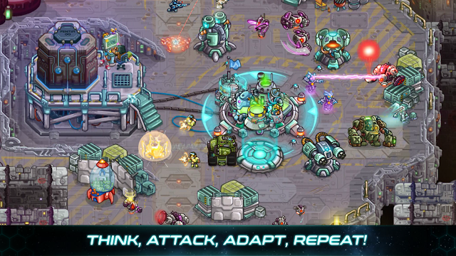 Screenshot Iron Marines - Apcoid