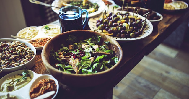 smaczny dietetyczny posiłek