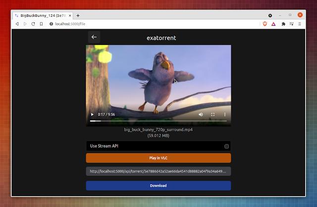 exatorrent streaming torrent