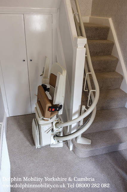 Stannah 260 internal bend Stairlift