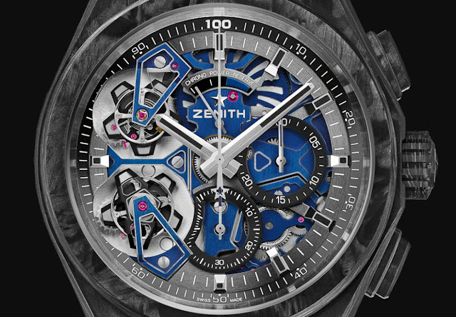 Zenith Defy Double Tourbillon in Carbon
